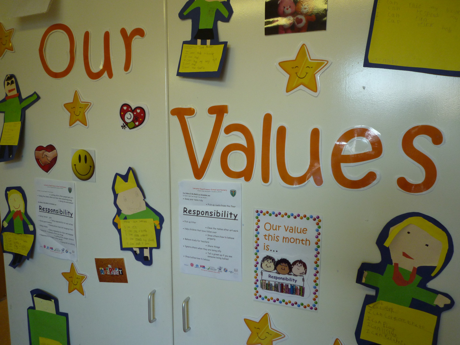 Our Values and Ethos | Lancaster Road Primary School